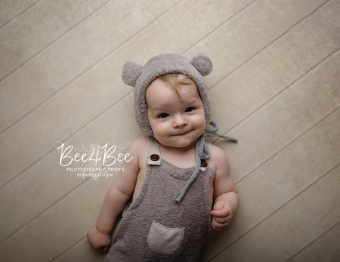baby bear outfit grey RTS