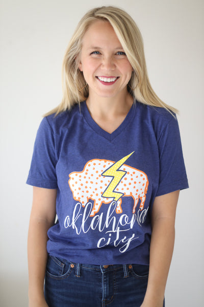 OKC SPIRIT: Buffalo & Bolt - Vneck