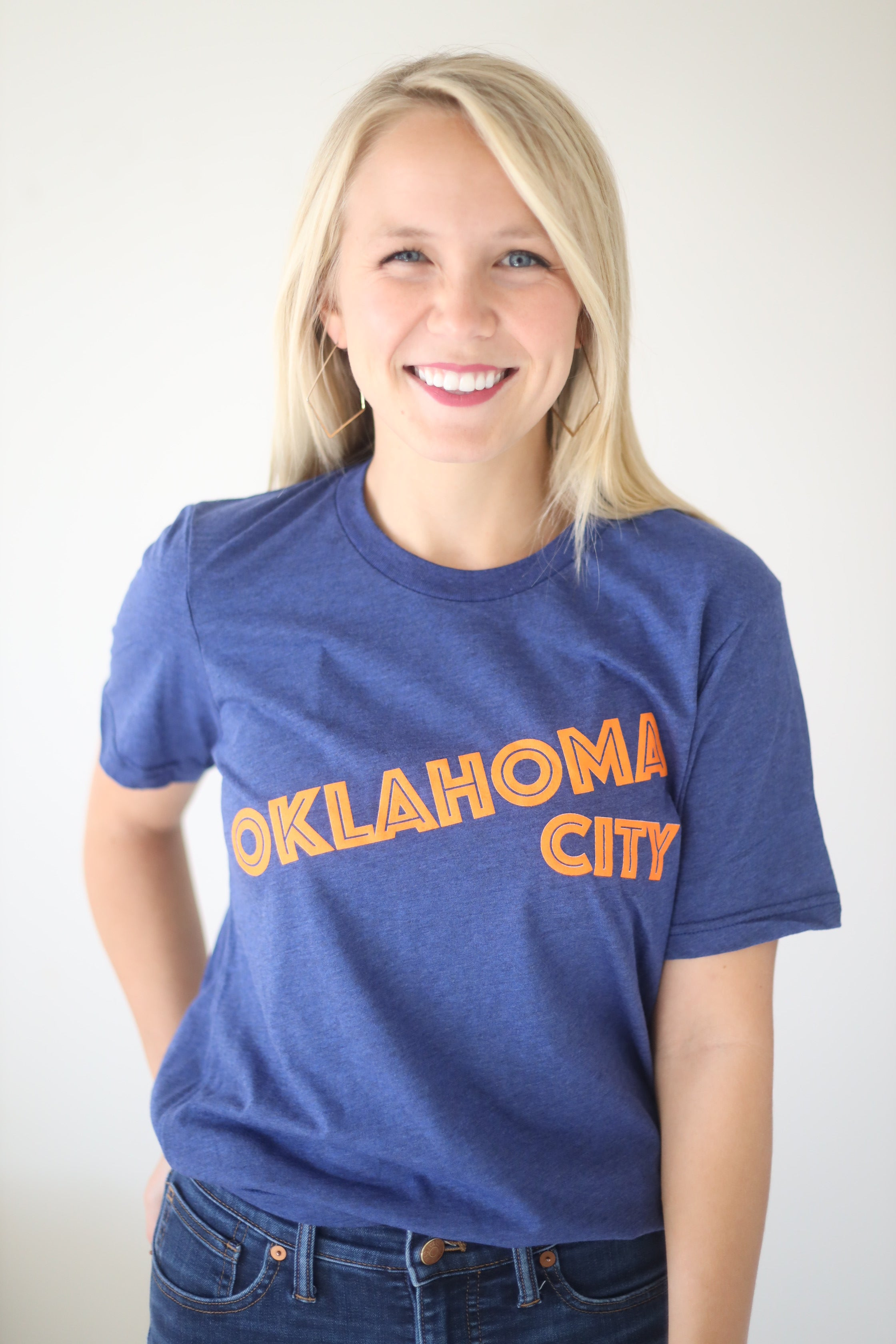 OKC SPIRIT: Simple Text - Crew Neck