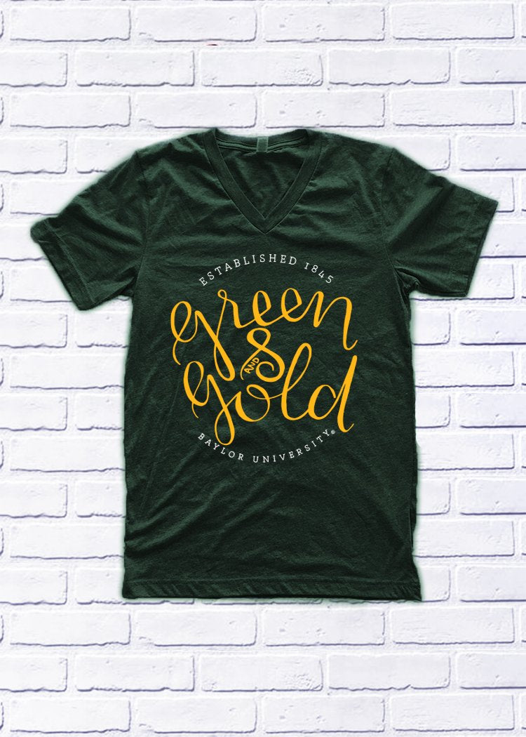 BAYLOR UNIVERSITY 2018: Green & Gold (3 styles)
