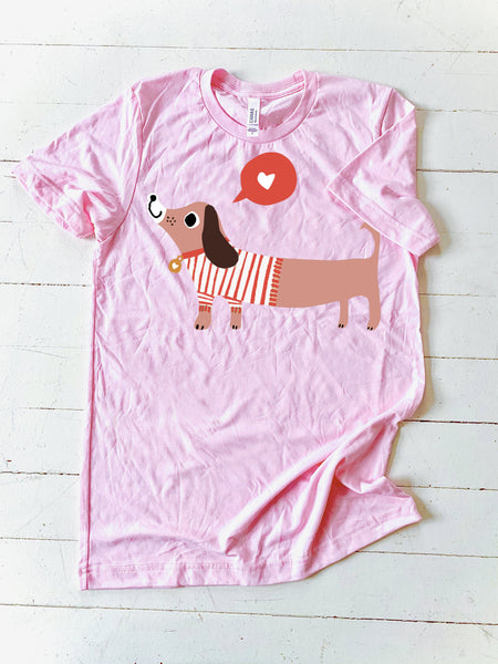 CJ KIDS: Charlee the Dachshund - Pink (Youth)
