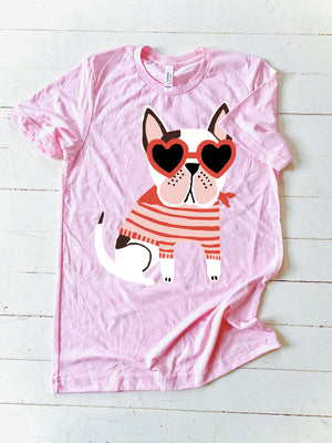 CJ KIDS: Milo the Frenchie - Pink (Youth)