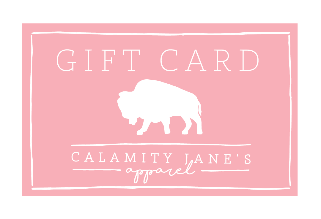 (DIGITAL VERSION) Calamity Cash • Gift Card