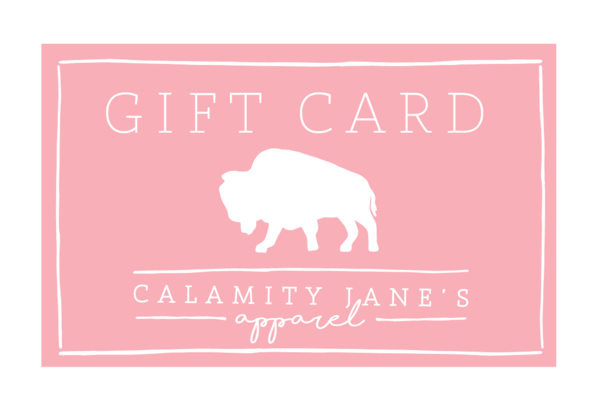 (PHYSICAL VERSION) Calamity Cash • Gift Card