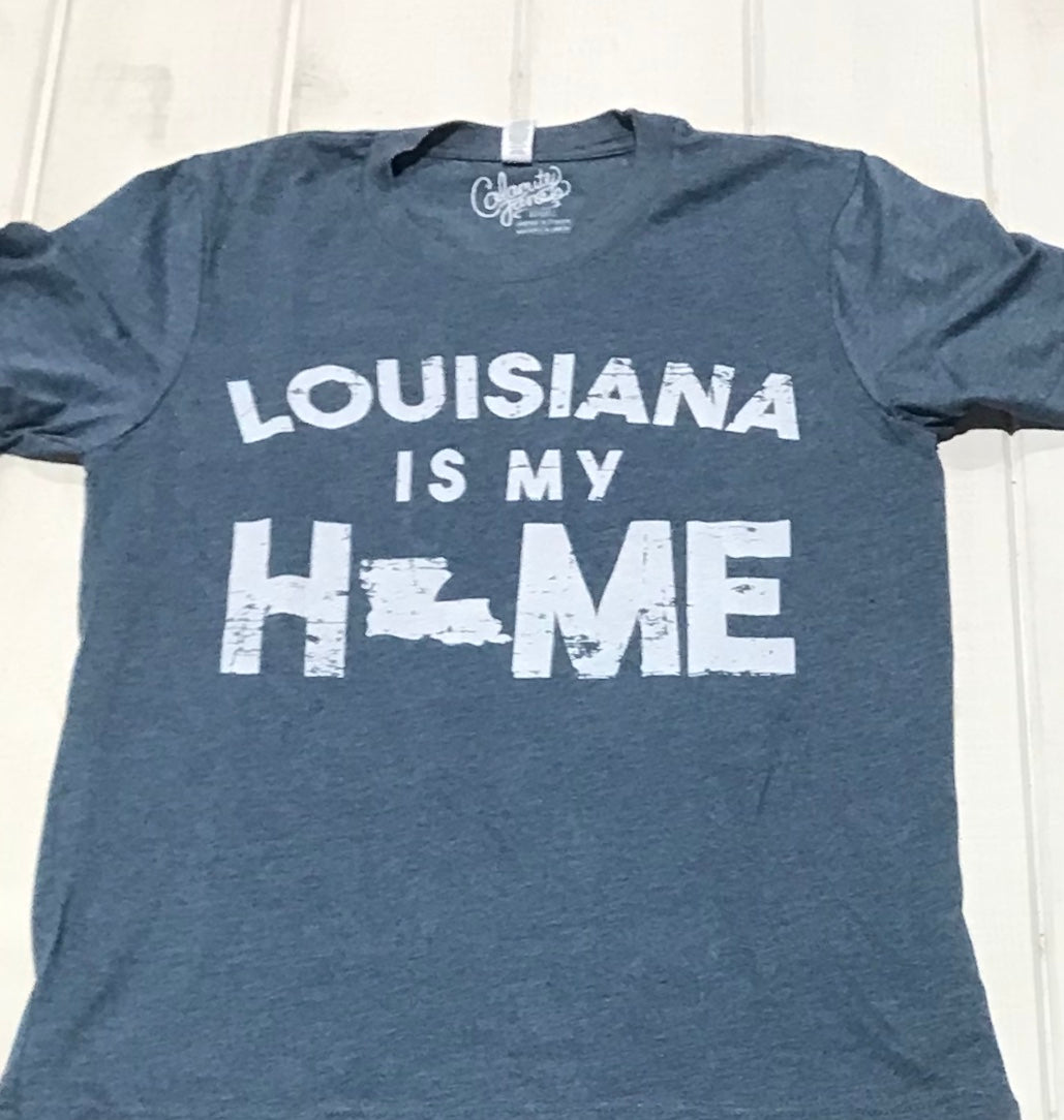 Louisiana Is My Home Blue Jean