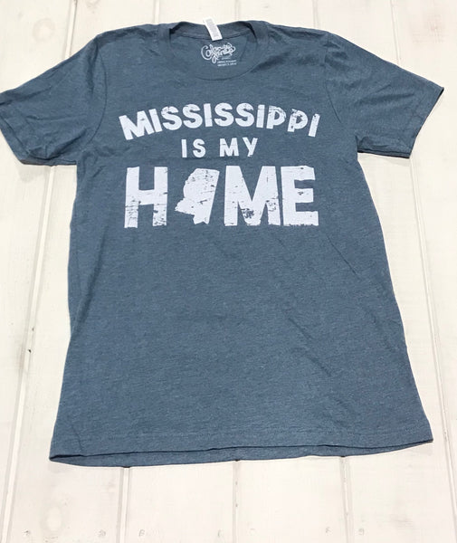 Mississippi Is My Home Blue Jean