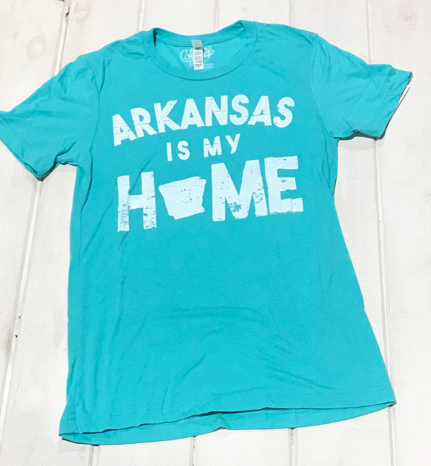 Arkansas Is My Home Teal