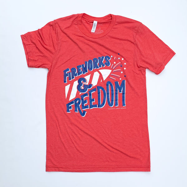 AMERICAN SPIRIT 2020: Fireworks & Freedom - Youth Crew Neck