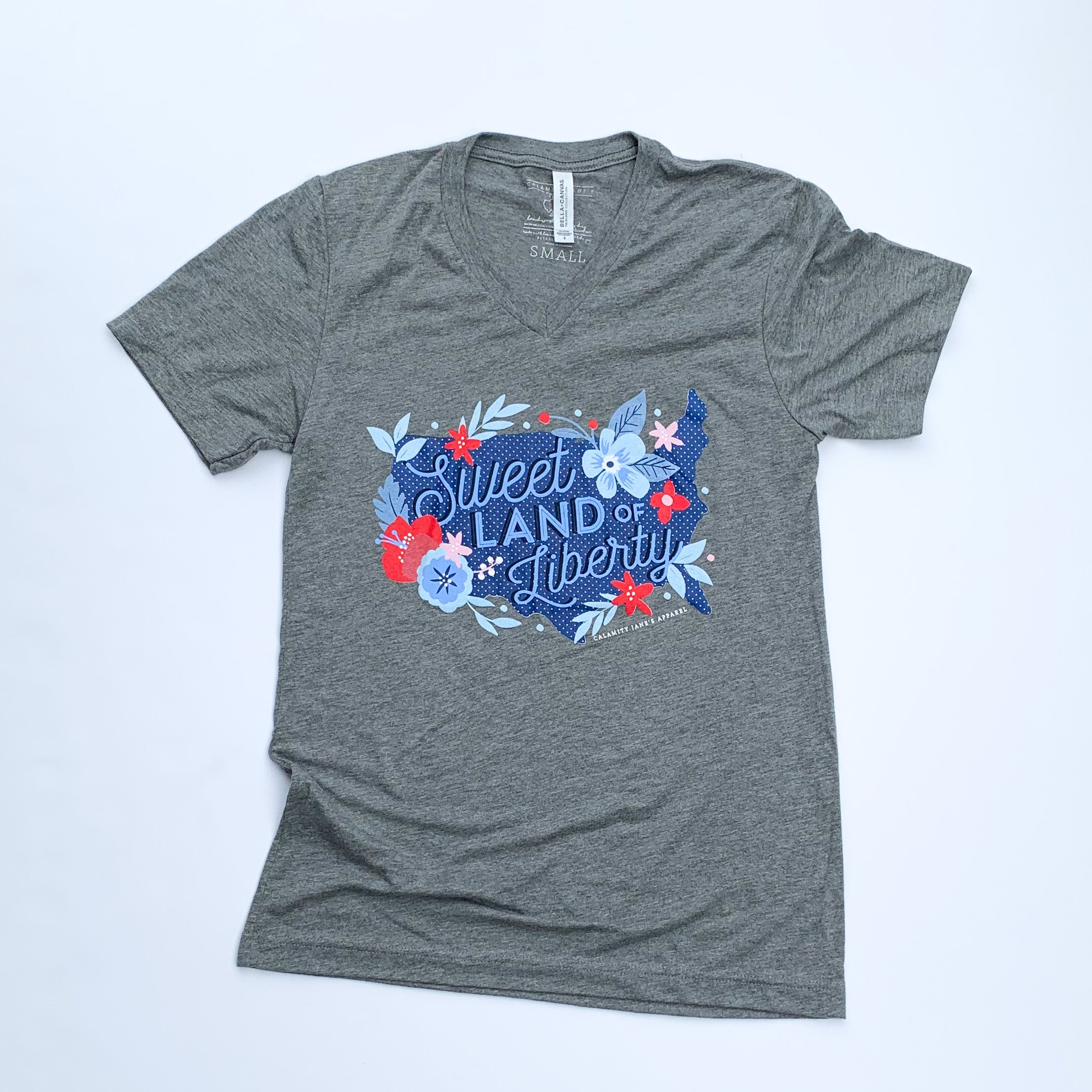 AMERICAN SPIRIT 2020: Sweet Land of Liberty - Adult Vneck