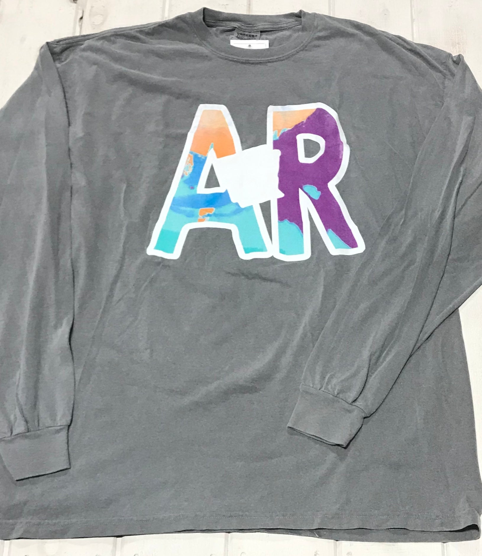 "Arkansas Multi Color ""AR"""