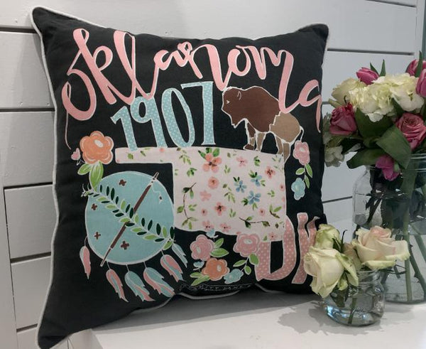 OKLAHOMA: 2018 Storyboard Pillow