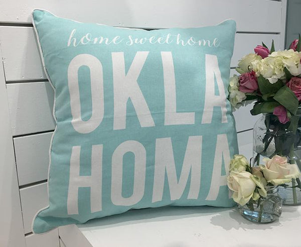 OKLAHOMA: Home Sweet Home Pillow