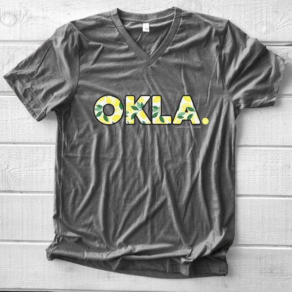 OKLAHOMA: OKLA Lemon Pattern