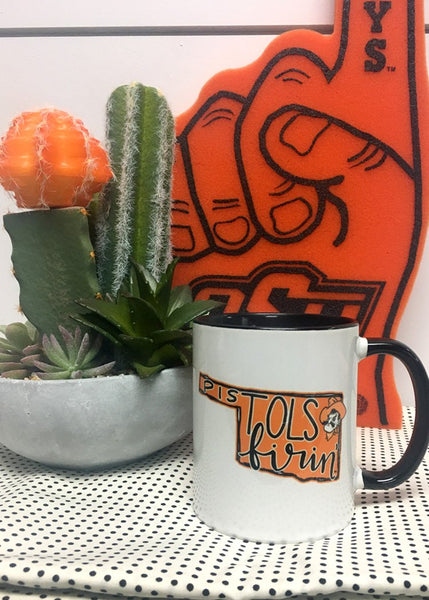 OSU: Oklahoma Pistols Firin' - Coffee Mug *NEW PRODUCT*