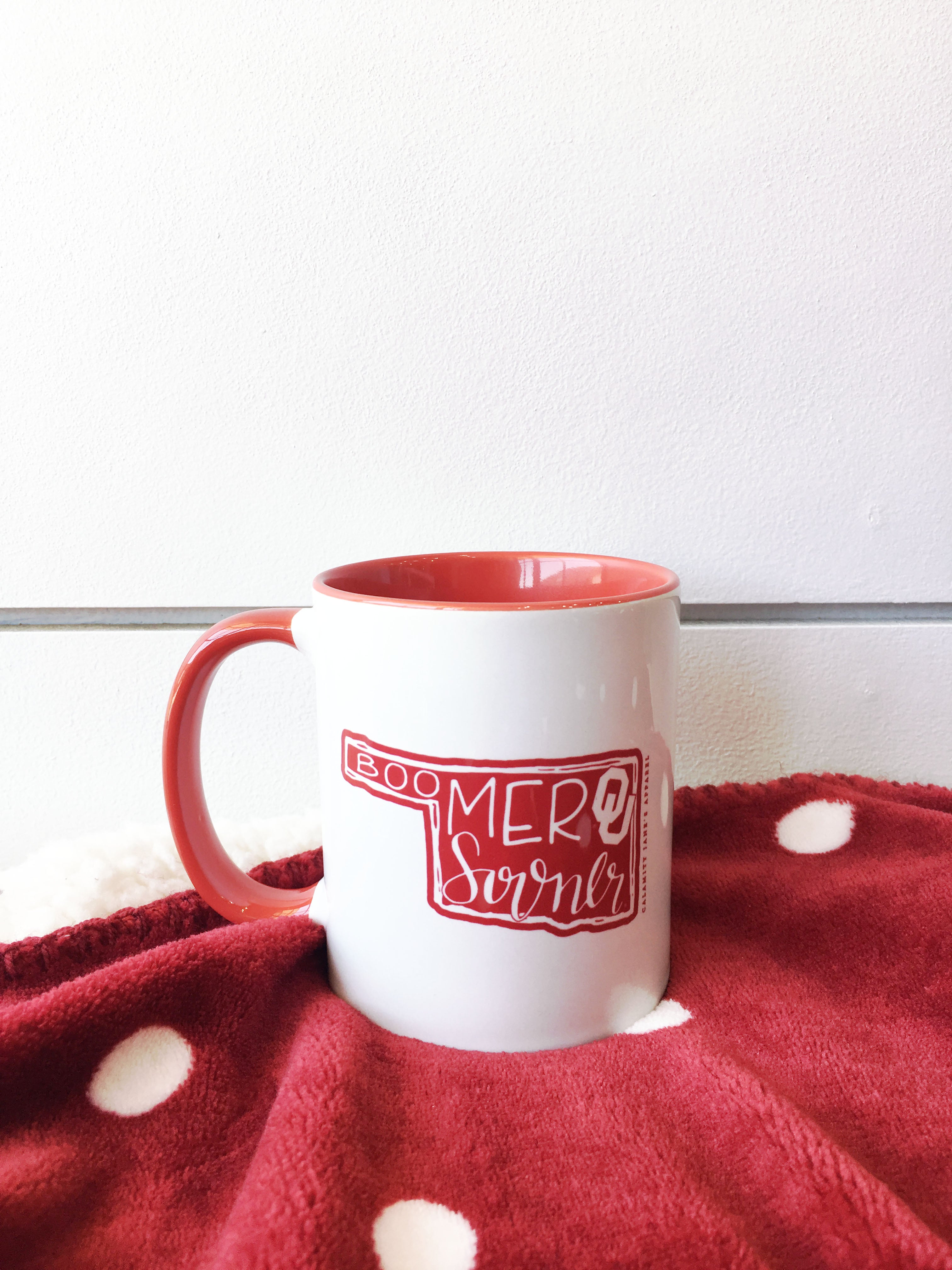 OU: Oklahoma Boomer Sooner - Coffee Mug *NEW PRODUCT*