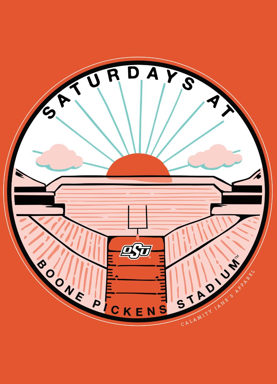 OK STATE 2020: Saturdays at Boone Pickens - Longsleeve
