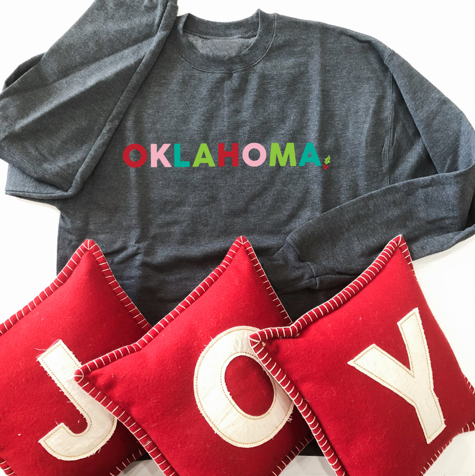 OKLAHOMA: Bright Christmas (BASIC SWEATSHIRT)