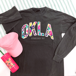 OKLAHOMA:  OKLA Vincent Colorful (LONGSLEEVE)