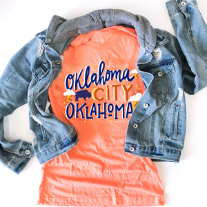 OKC SPIRIT: Orange Oklahoma City, Oklahoma (CREW NECK)
