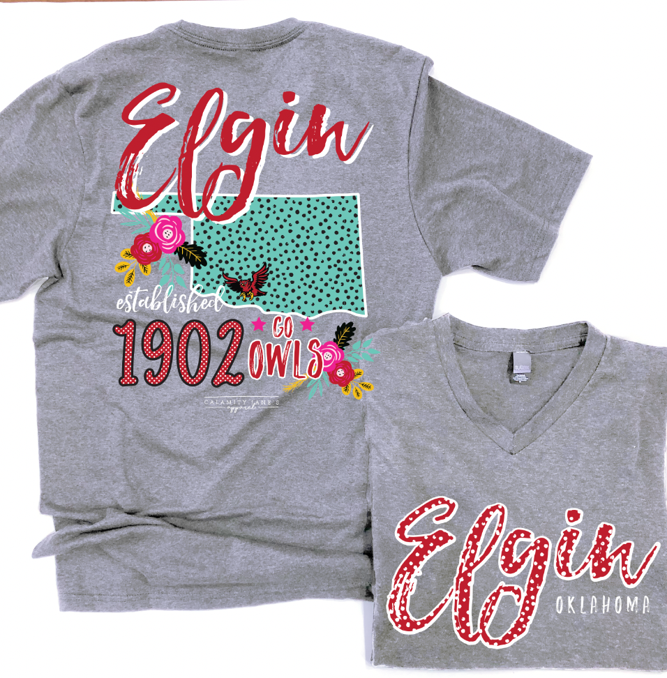 ELGIN Storyboard - FUNDRAISER TEE