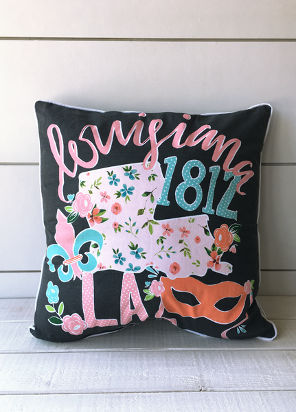LOUISIANA: 2018 Storyboard Pillow