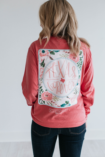 SALE: 2018 TEXAS FOREVER FLORAL BACK