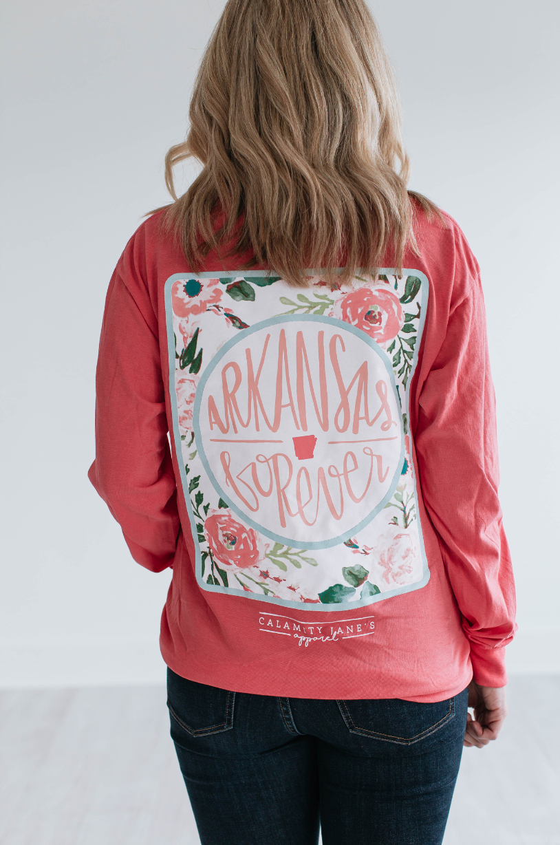 ARKANSAS: Forever Floral Back