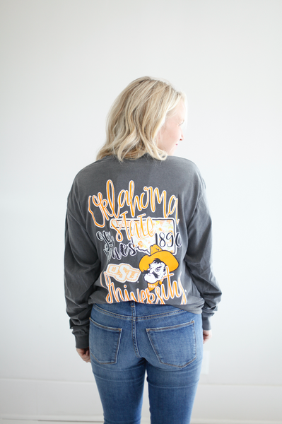 OKLAHOMA STATE UNIVERSITY 2018: Collegiate Storyboard Longsleeves