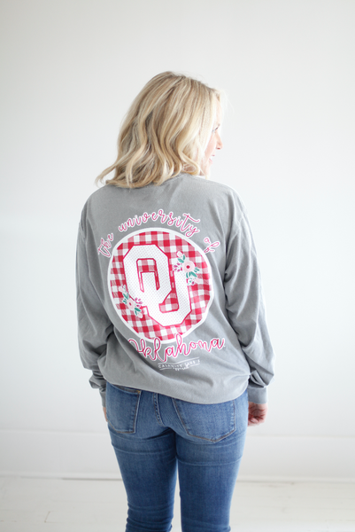UNIVERSITY OF OKLAHOMA 2018: Buffalo Check Circle Back Shortsleeve
