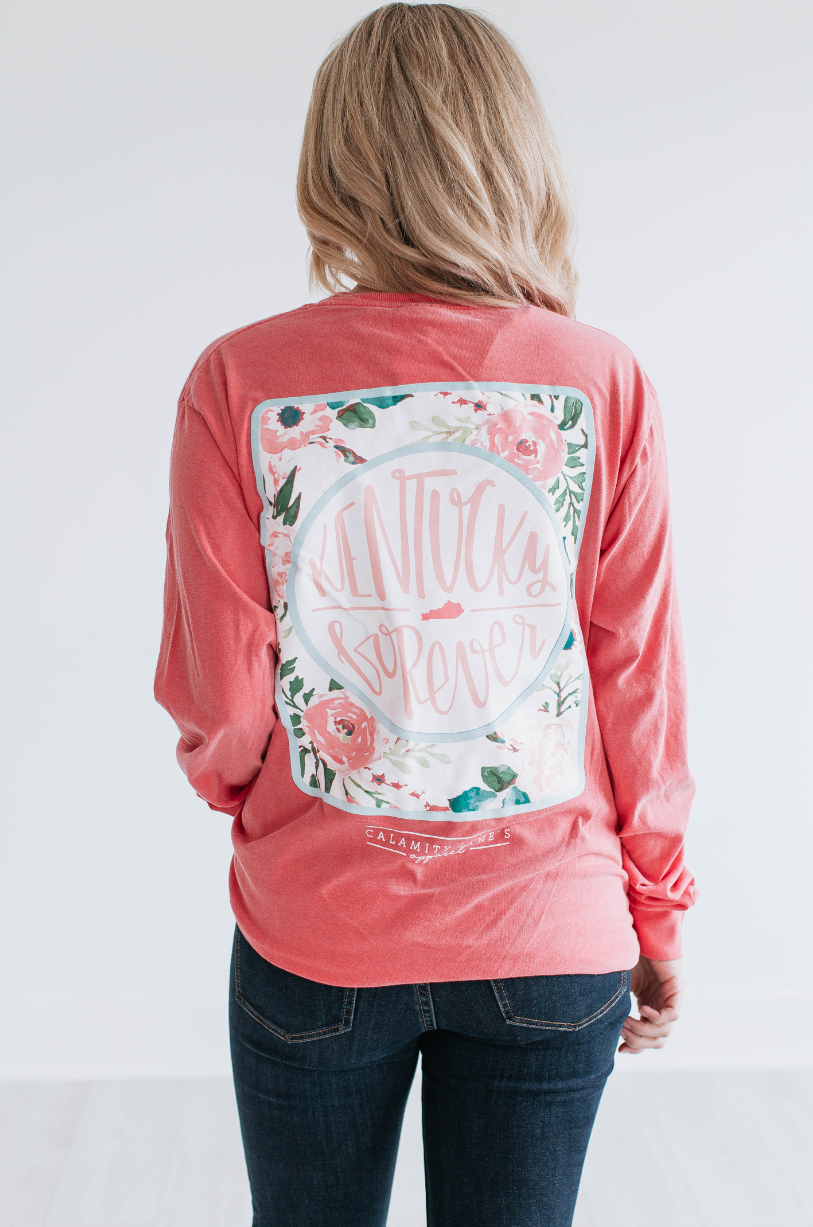 KENTUCKY: Forever Floral Back