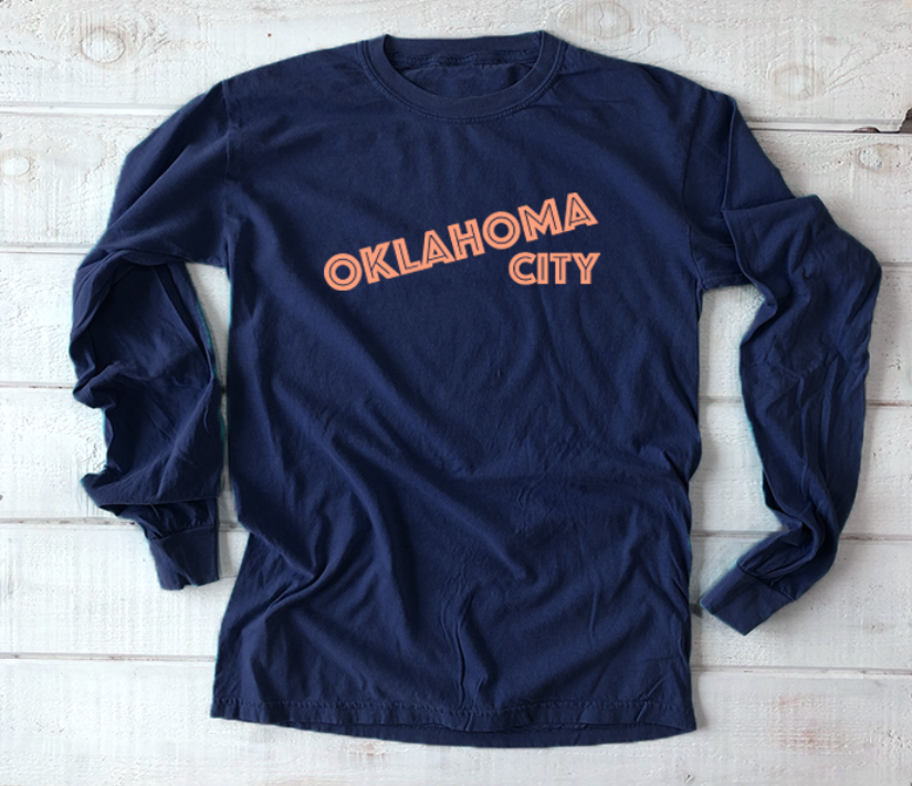 OKC SPIRIT: Simple Text - Comfort Longsleeve