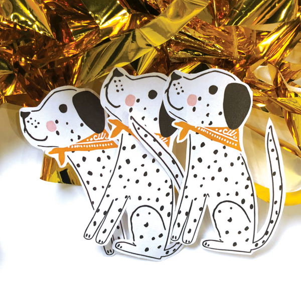 CJ KIDS: Spot the Dalmation - Diecut Sticker
