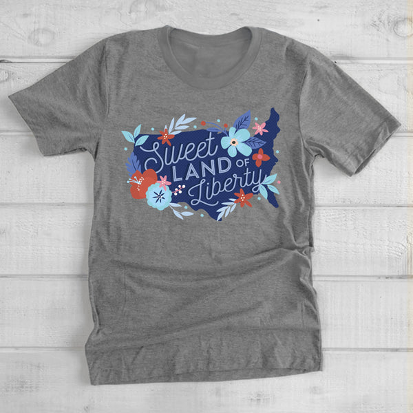 AMERICAN SPIRIT 2020: Sweet Land of Liberty - Youth Crew Neck