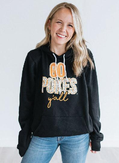OK STATE 2019: Go Pokes Y'all - Hoodie