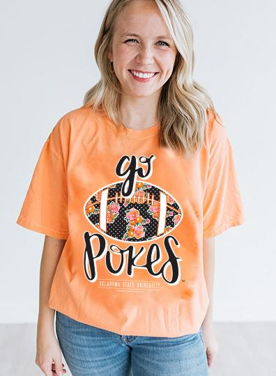 OK STATE 2019: Go Pokes Football - Shortsleeve
