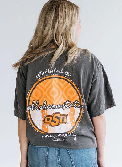 OK STATE 2019: Ikat & Stripes - Shortsleeve
