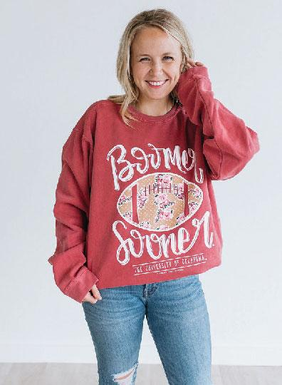 UNIV. OF OK 2019: Boomer Sooner Football - Sweatshirt