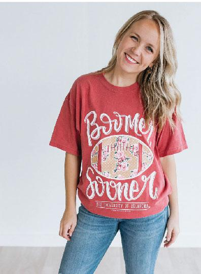 UNIV. OF OK 2019: Boomer Sooner Football - Shortsleeve