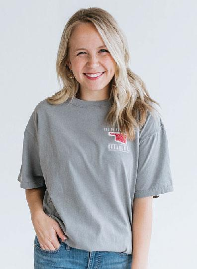 UNIV. OF OK 2019: Confetti Dots & Interlocking Logo  - Shortsleeve