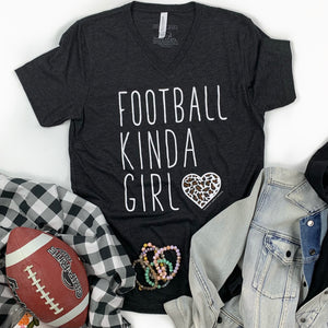 SPORTS LIFE: Football Kinda Girl - Vneck