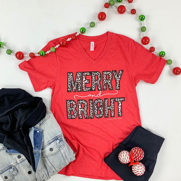CHRISTMAS 2020: Merry & Bright Leopard