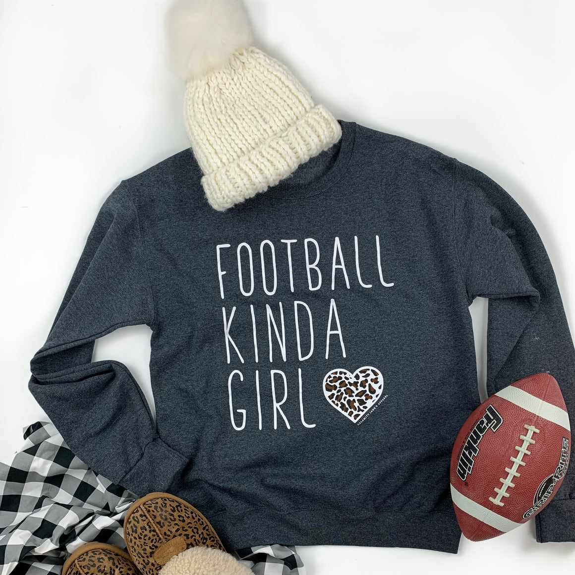 SPORTS LIFE: Football Kinda Girl - Sweatshirt