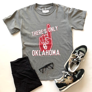 UNIV. OF OK 2020: There's Only One - Shortsleeve