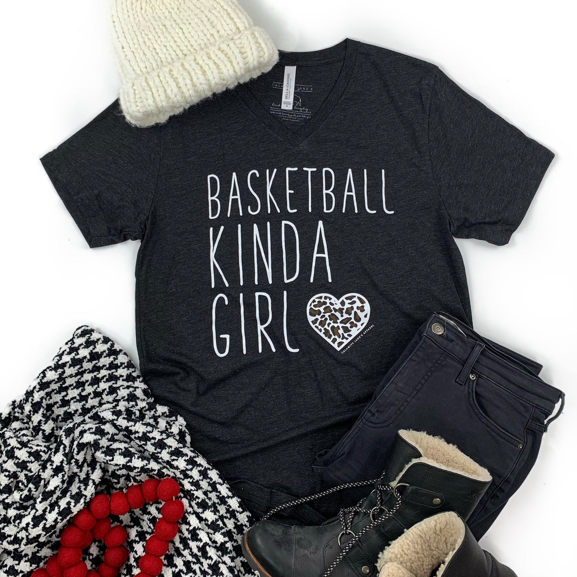 SPORTS LIFE: Basketball Kinda Girl - Vneck
