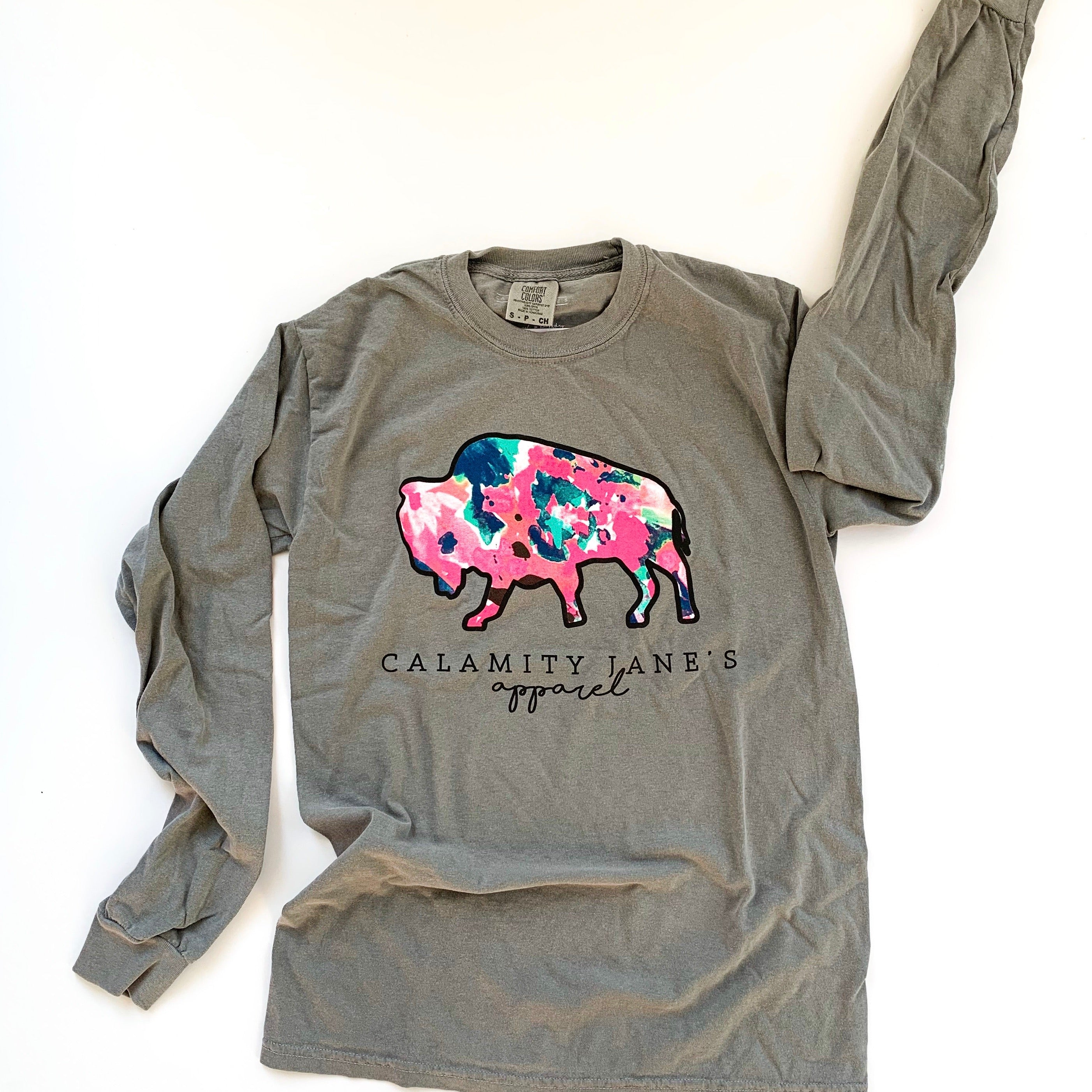 CJ LOGO: Abstract Floral - Comfort Longsleeve
