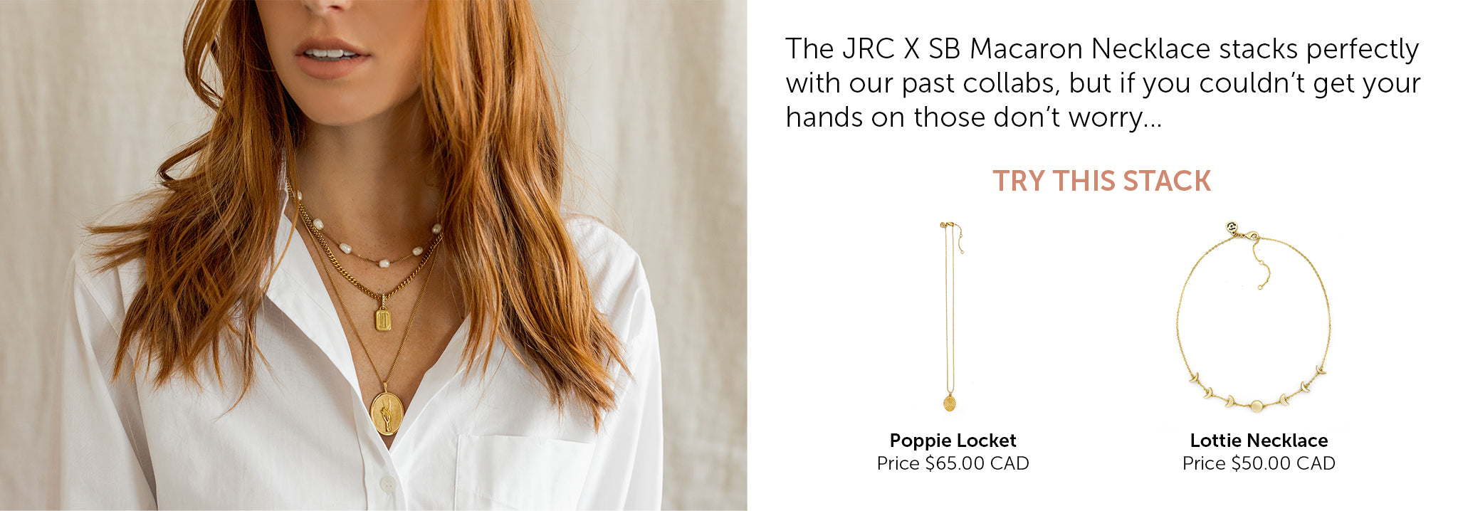 JRC X SB Necklace Stacking Ideas