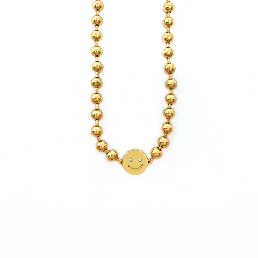 Birdie Necklace necklace Shop Sugar Blossom Birdie Necklace - Gold