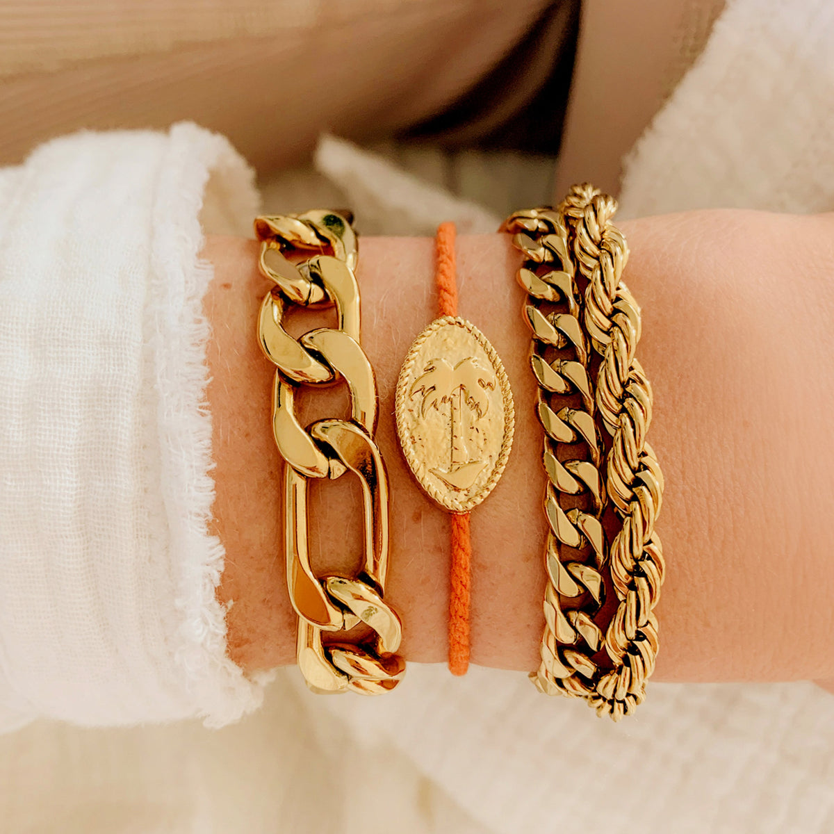 Coco Bracelet (Burnt Orange)