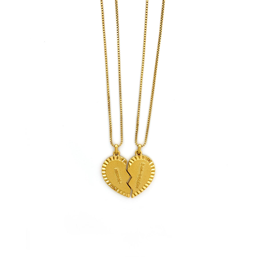 Flossie Necklace necklace Shop Sugar Blossom Flossie Necklace- Gold