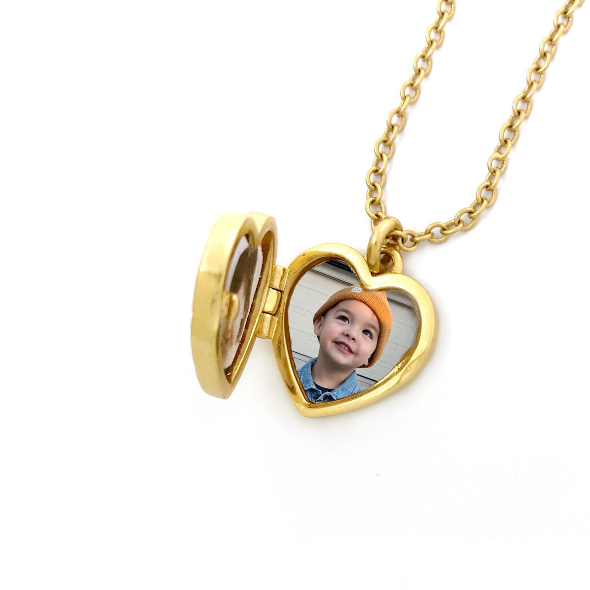 Juliet Locket Necklace- Gold